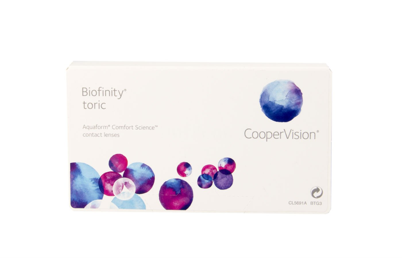 Biofinity Toric 3 ud